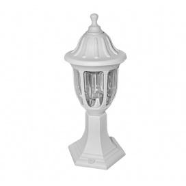 Στρογγυλό Φωτιστικό Δαπέδου Λευκό (9-340)