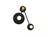 Aca Επιτοίχιο Φωτιστικό Μαύρο (OD742W74BM)