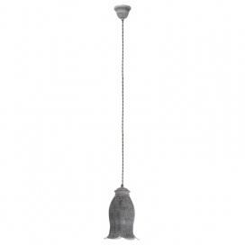 Eglo Talbot 1 Vintage Φωτιστικό Σκούρο Μπρονζέ (49208)