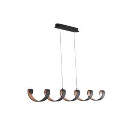 Luce Ambiente Design Led Κρεμαστό Φωτιστικό LED-HELIX-S6 NER (8031440362771)