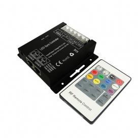 RGB Controller με τηλεχειριστήριο IF 12V 288W - 24V 576W (SZ600RGB)