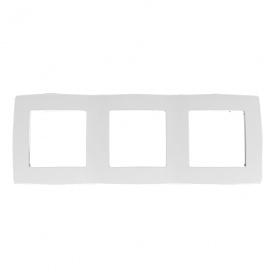 Acaelec Prime Πλαίσιο 3 Θέσεων Λευκό (1000119201)