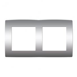 Acaelec Prime Πλαίσιο 2 Θέσεων Ματ Αλουμίνιο (1000119103)