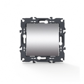Acaelec Prime Διακόπτης Απλός Ματ Αλουμίνιο (1000110003)