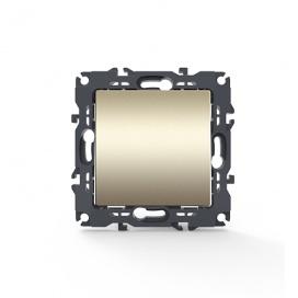 Acaelec Prime Διακόπτης Απλός Ματ Σαμπανιζέ (1000110004)