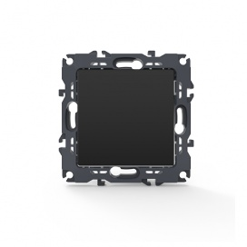 Acaelec Prime Διακόπτης Απλός Ματ Ανθρακί (1000110005)