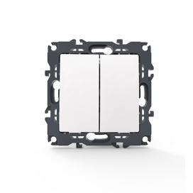 Acaelec Prime Διακόπτης Κομμυτατέρ Λευκός (1000110201)