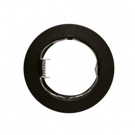 Σποτ Χωνευτό Στρογγυλό Σταθερό MR16 & GU10 Μαύρο (AC.0451042WB)