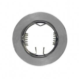Σποτ Χωνευτό Στρογγυλό Σταθερό MR11 & Mini GU10 Ασημί (BS3161CP)