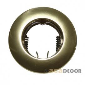 Σποτ Χωνευτό Στρογγυλό Σταθερό MR11 & Mini GU10 Χρυσό Ματ (BS3161GM)