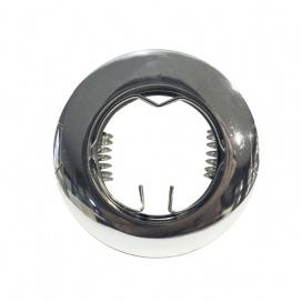 Σποτ Χωνευτό Στρογγυλό Σταθερό MR11 & Mini GU10 Νίκελ (BS3161N)
