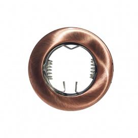 Σποτ Χωνευτό Στρογγυλό Σταθερό MR11 & Mini GU10 Χάλκινο (BS3161RAB)