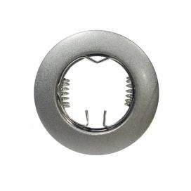 Σποτ Χωνευτό Στρογγυλό Σταθερό MR11 & Mini GU10 Γκρι Βαφής (BS3161SG)