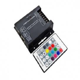 RGBW Controller με τηλεχειριστήριο RF 12V 288W - 24V 576W (SZ600-RGBW)