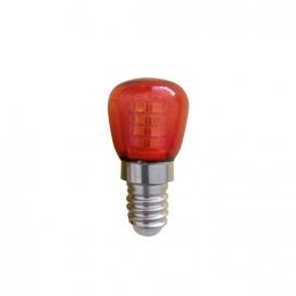 Led Λαμπάκι Νυκτός 1W E14 Κόκκινο (T26R)
