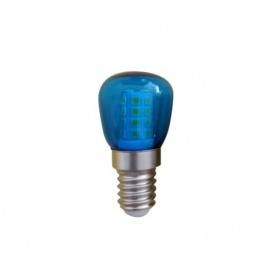 Led Λαμπάκι Νυκτός 1W E14 Μπλε (T26B)