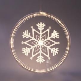 Led Διακοσμητικό 3D ACRYLIC SNOWFLAKE 36 Led Θερμά (X083612510)