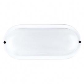 Aca LED SMD επίτοιχη απλίκα Λευκή 10W 6000Κ (DORA1060W)