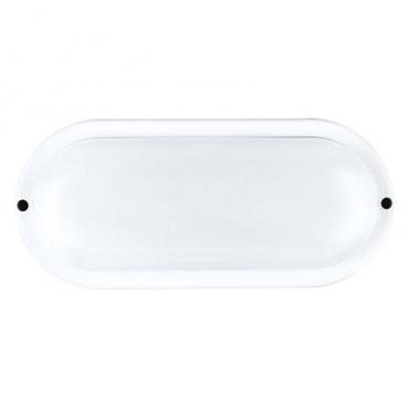 Aca LED SMD επίτοιχη απλίκα Λευκή 20W 6000Κ (DORA2060W)