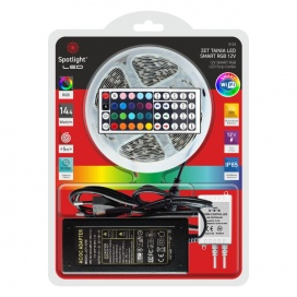 Spotlight ΣΕΤ 5μ WiFi SMD LED Αδιάβροχη Λωρίδα 14.4W/m RGB (5133)
