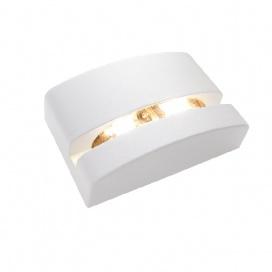Aca Led Επιτοίχιο Φωτιστικό 5W 3000K Λευκό (LG1525W)