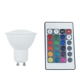 Λάμπα SMD LED Ball 4W GU10 RGBW (GU104RGBWN)