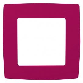 Acaelec Prime Πλαίσιο 1 Θέσης Ροζ (1000119007)