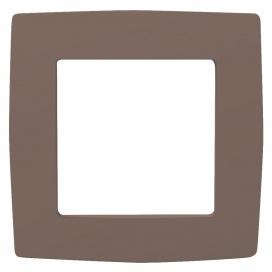 Acaelec Prime Πλαίσιο 1 Θέσης Εκρού (1000119011)