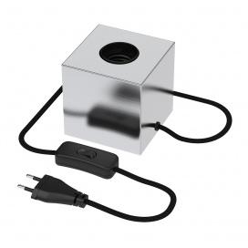 Calex Επιτραπέζιο Φωτιστικό Σατινέ Νίκελ (CX941018)