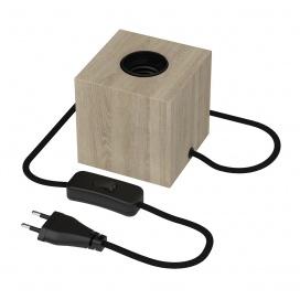 Calex Επιτραπέζιο Φωτιστικό Ξύλο (CX941016)