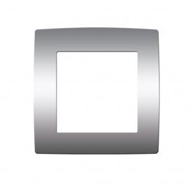 Acaelec Prime Πλαίσιο 1 Θέσης Ματ Αλουμίνιο (1000119003)