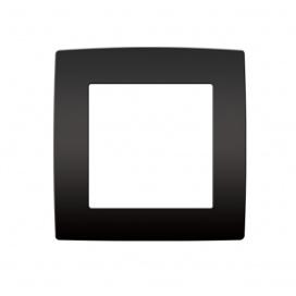 Acaelec Prime Πλαίσιο 1 Θέσης Ματ Ανθρακί (1000119005)