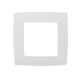 Acaelec Prime Πλαίσιο 1 Θέσης Λευκό (1000119001)