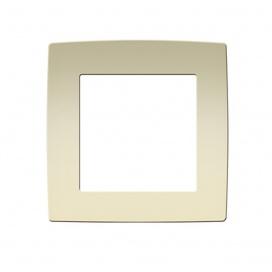 Acaelec Prime Πλαίσιο 1 Θέσης Ιβουάρ (1000119002)
