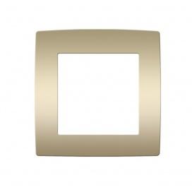 Acaelec Prime Πλαίσιο 1 Θέσης Ματ Σαμπανιζέ (1000119004)