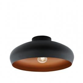 Eglo Mogano Vintage Φωτιστικό Μαύρο (94547)