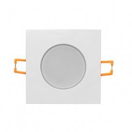 LED SMD ΛΕΥΚΟ χωνευτό φωτιστικό οροφής 5W 120° 4000K (VERA540SWN)