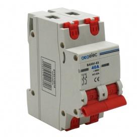 Ραγοδιακόπτης 40A 2P 400V (DY02110018)