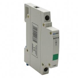 Ενδεικτική Λυχνία Ράγας Πράσινη 1P 230V (DY02140002)