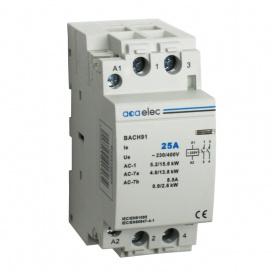 Ρελέ Ράγας 25Α 2NO 2M 400V (DY02130025)