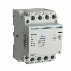 Ρελέ Ράγας 25Α 4NO 3M 230/400V (DY02130012)