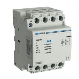 Ρελέ Ράγας 40Α 4NO 3M 230/400V (DY02130014)