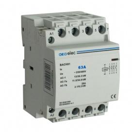Ρελέ Ράγας 63Α 4NO 3M 230/400V (DY02130015)