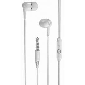 XO EP37 In-ear Handsfree 1.15M Λευκό (16.002.0036)