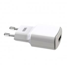 XO USB Φορτιστής Λευκός (16.006.0059)