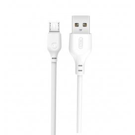 XO Καλώδιο Φόρτισης Micro USB 2m Λευκό (16.005.0070)