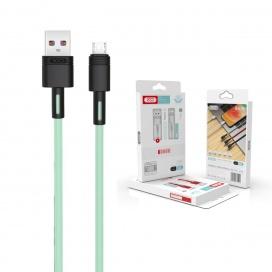 XO Καλώδιο Φόρτισης Fast Micro USB 2m Πράσινο (16.005.0096)