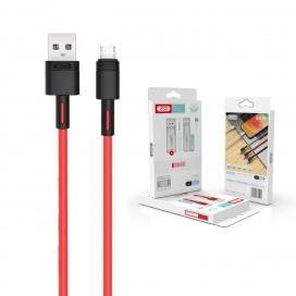 XO Καλώδιο Φόρτισης Fast Micro USB 2m Κόκκινο (16.005.0097)