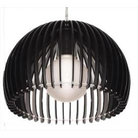Aca Μονόφωτο Φωτιστικό Μαύρο (V286531P28BK)