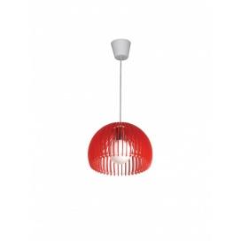 Aca Μονόφωτο Φωτιστικό Κόκκινο (V286531P28RD)